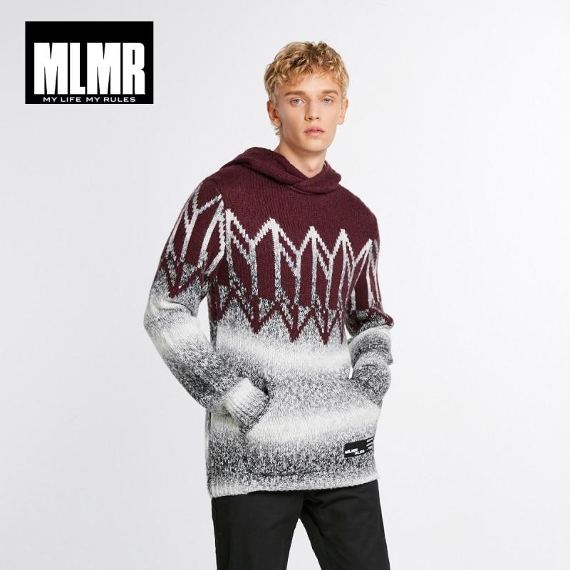JackJones Men's Hooded Sweater Wool Pullover Top Menswear 218425527