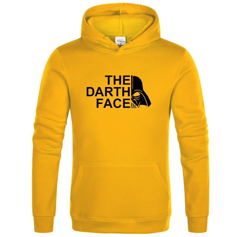 2020 Fashion Star Wars The Darth Face Sweatshirt Clothes Sweatshirt Hoodies Men Autumn Winter Hip Hop Hooded