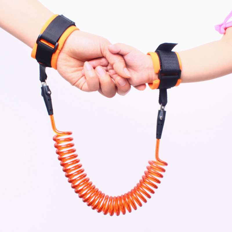 Upgraded 360-degree Rotating Kids Anti Lost Wrist For Children Safety Anti-Lost Bracelet For Baby Walker Baby Traction Rope
