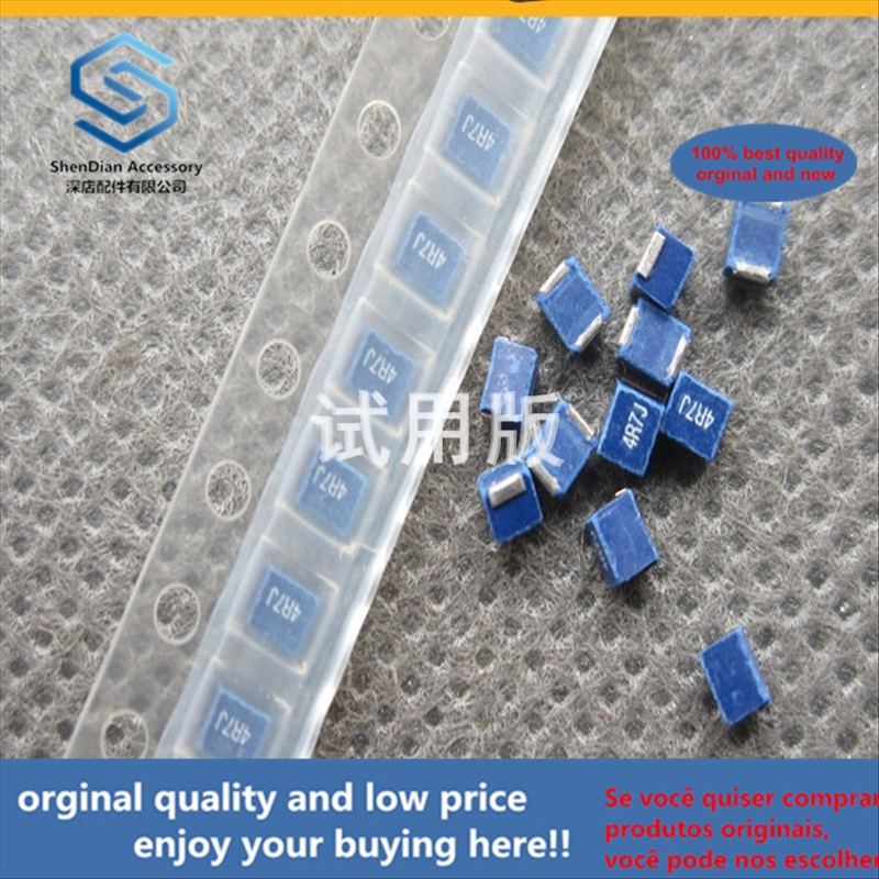 50pcs 100% Orginal New Best Quality NLV25T-4R7J-PF 2520 -1008 4.7uH 5% SMD Power Inductor Winding