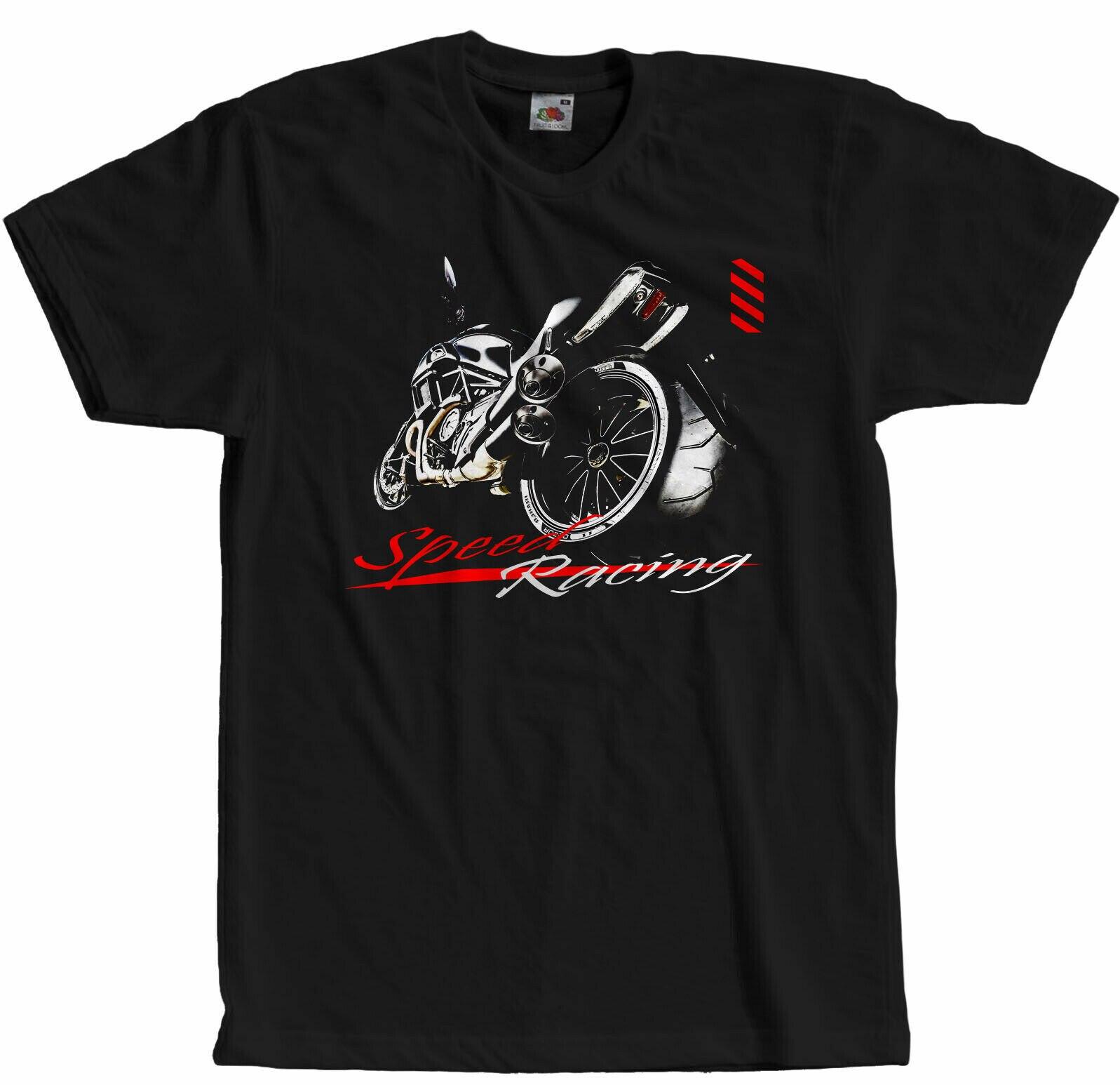 Motorfiets Racing Diavel Motorrad Gp Speed Motoren T-Shirt Merk 2019 Mannelijke Korte Mouwen Ontwerpen Best Verkopende Mannen Cool T Shirts