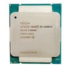אינטל E5 2690 V3 מעבד SR1XN 2.6Ghz 12 Core 30MB Socket LGA 2011 3 Xeon מעבד