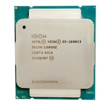 Intel E5 2690 V3 โปรเซสเซอร์ SR1XN 2.6Ghz 12 Core 30MB Socket LGA 2011 3 Xeon CPU