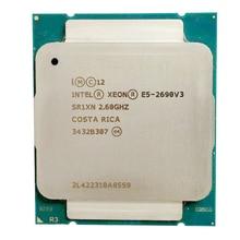 인텔 e5 2690 v3 프로세서 sr1xn 2.6 ghz 12 코어 30 mb 소켓 lga 2011 3 xeon cpu