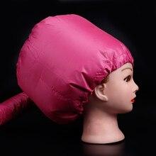 Pro Salon Heimgebrauch Haar Trockner Kappe Tragbare Haar Dauerwelle Pflege Warme Diffusor Hut Haar Care Dampfer Zubehör DIY Home