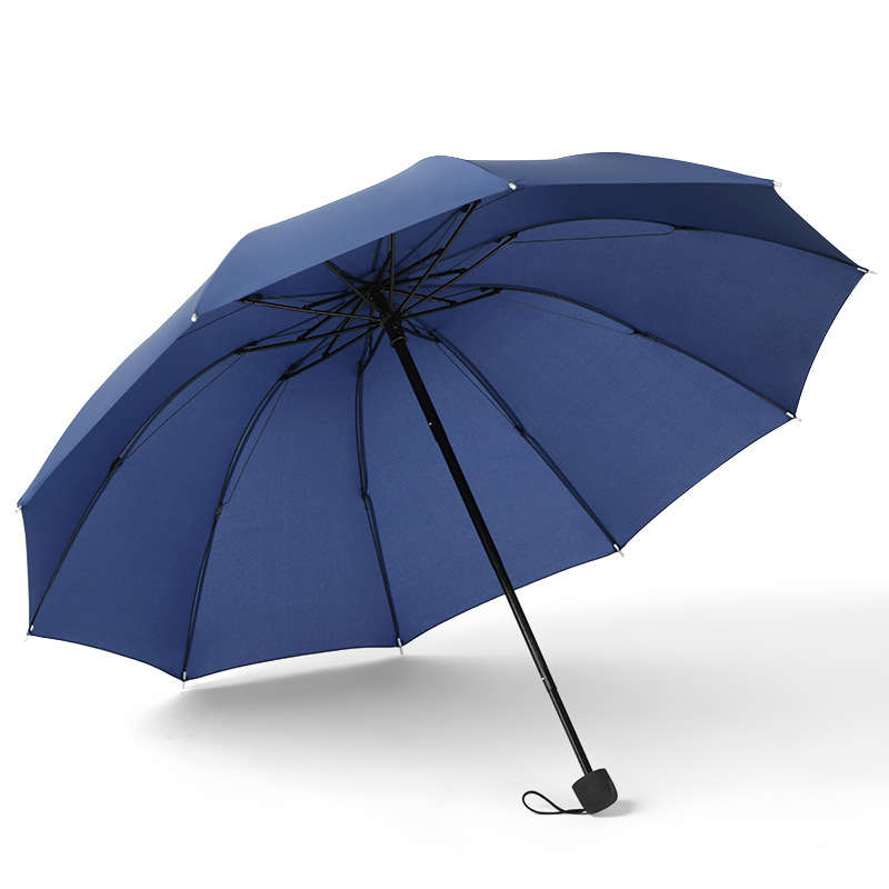 Double <font><b>golf</b></font> <font><b>umbrella</b></font> <font><b>windproof</b></font> 10k bone manual increase reverse large men's women's business <font><b>umbrella</b></font> men's <font><b>umbrella</b></font> Sf01 image