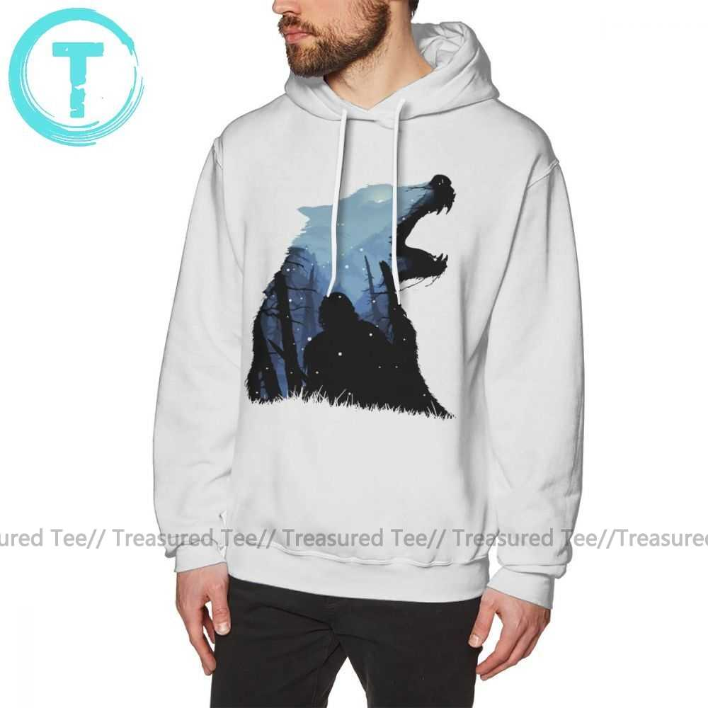 Толстовка Игра престолов Джон Сноу король северов худи большой Мужской пуловер