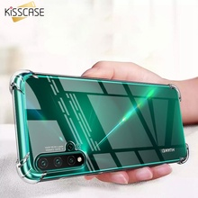 KISSCASE Transparent Phone Cases For Huawei P30 P20 Lite High Quality Anti-knock Soft Silicone Case Honor 10 8 9 Capa