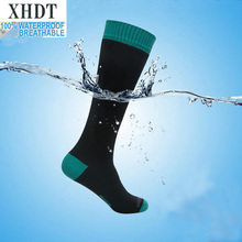 Men high quality knee-long breathable coolmax running waterproof/windproof antiskid outdoor football sport socks