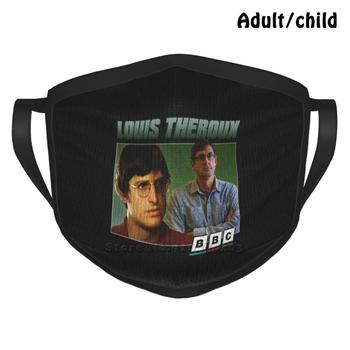 British Documentary Filmmaker Anti Dust Reusable DIY Face Mask Louis Theroux Louis Theroux 90 90s Cool Tv Retro Wavy Documentary image