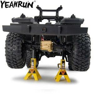 YEAHRUN Новый латунный счетчик веса, баланс веса для 1:10 RC гусеничный, для портала, оси, латунный счетчик, вес, портальный привод