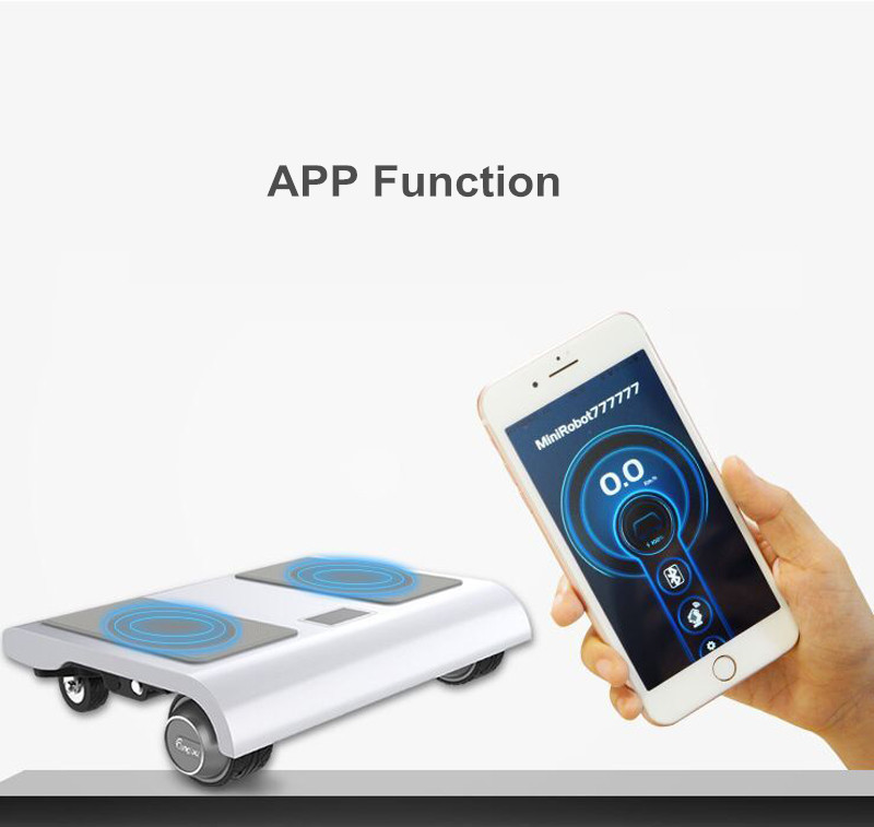 Adult Electric Notebook Scooter Four Wheels Self Balancing Scooter Walk Car Portable Electric Scooter With APPBluetooth (15)
