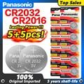 PANASONIC 2020 Акция 3 в 5 шт. Cr2016 + 5 шт. Cr2032 часовая батарейка CR 2032 2032 часовая батарейка CR 2016