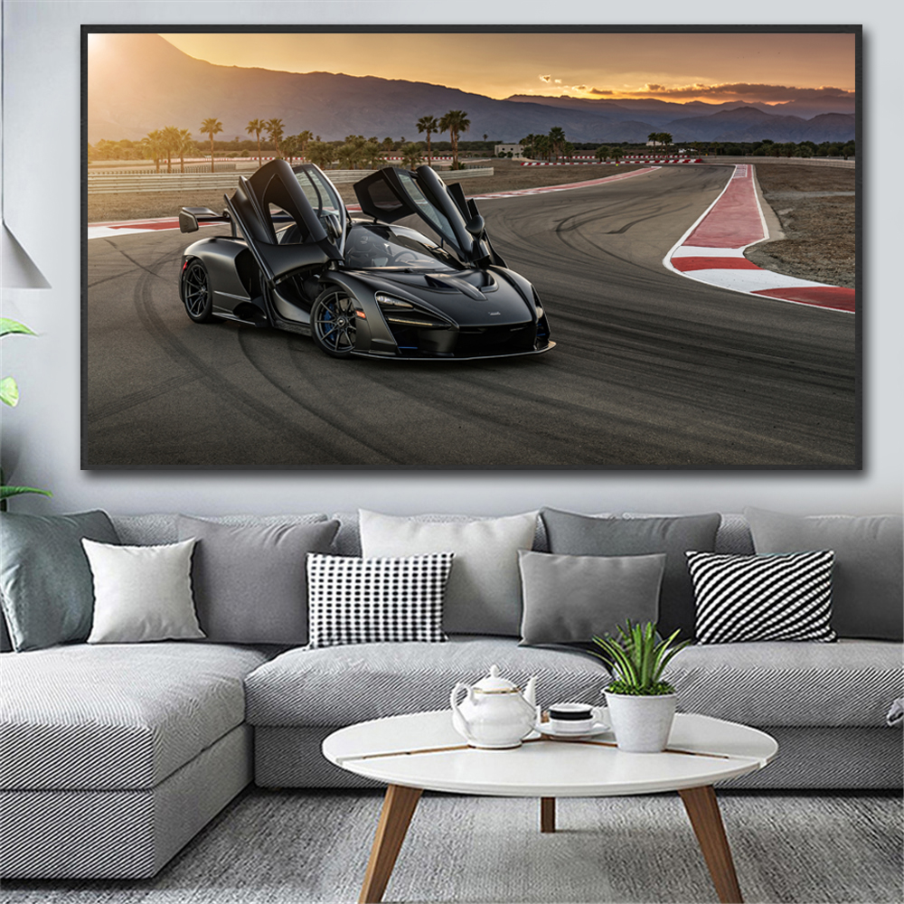 Modern Canvas Painting Sport Car Super Car Posters Wall Art Pictures Painting Wall Art for Living Room Home Decor No Frame