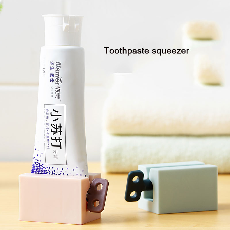 Creative Lazy Toothpaste Squeezer Children's Manual Toothpaste Squeezer Facial Cleanser Pressing Artifact Toothpaste Squeezer