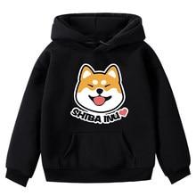 Anime bluza z kapturem dla psa shiba inu bluza z kapturem kurtka płaszcz z kapturem moda bluzy damskie i męskie
