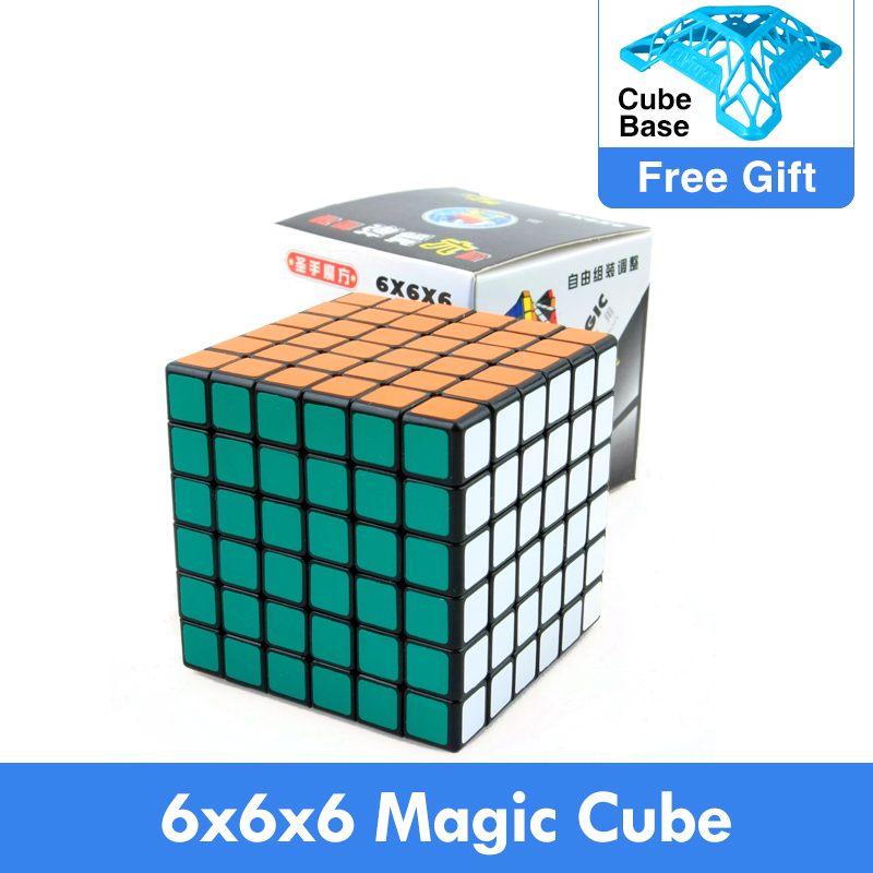 DaYan Gem Cube VII Magic Cube White And Black and Primary kub magico Puzzles Game toys Learning&Educational Cubo magico Toys