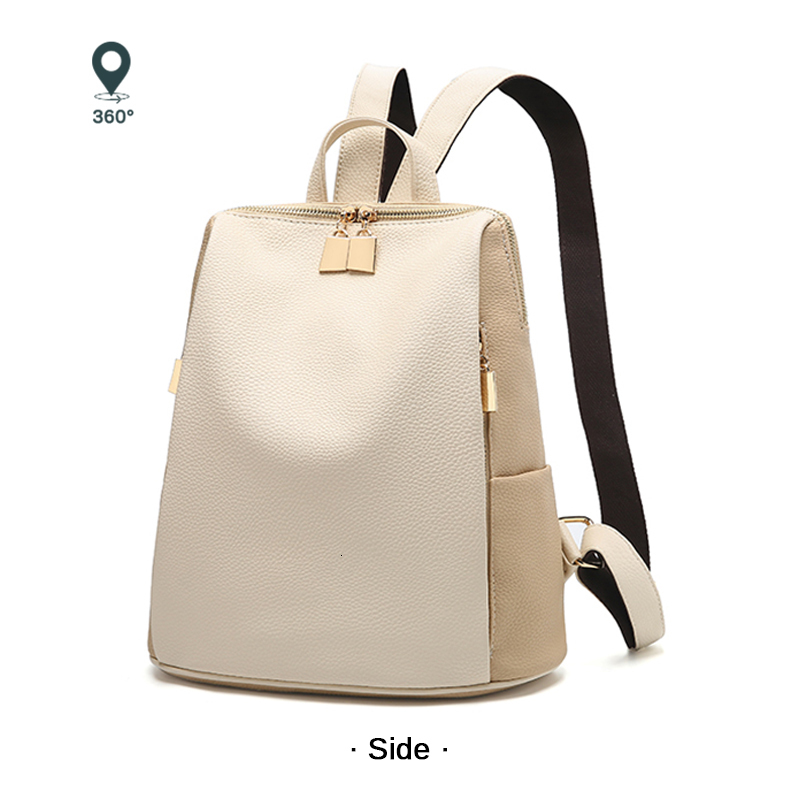 H256de40487124e67a59aee59543379faf Women Backpack for School Style Leather Bag For College Simple Design Women Casual Daypacks mochila Female Famous Brands168-325