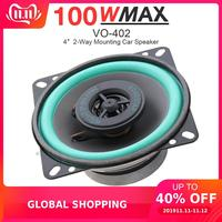 4 Inch 100W Universal Car HiFi Speaker Vehicle Door Auto Audio Music Stereo Full Range Frequency Coaxial Speaker Car Loudspeaker