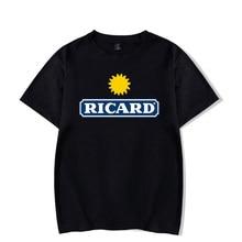 Ropa Mujer T koszula kobiety RICARD topy Tee kobiety lato Vetement Nous t-shirty Damskie z krótkim rękawem Tshirt czarna koszula Harajuku