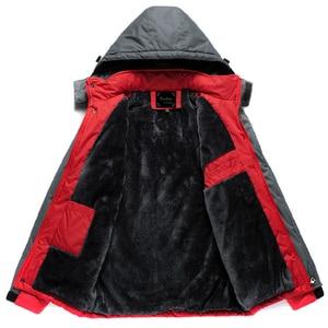 Image 4 - Winter Parka Men Plus Velvet Warm Windproof Coats Mens Military Hooded Jackets Casaco Masculino Casacos Mens Outwear Overcoat