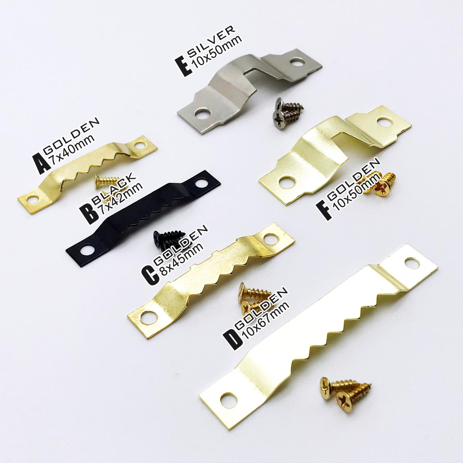 25 шт., настенные крючки для картины с винтами