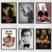 Bond James 007 Canvas Painting Posters and Prints Wall Art Picture Decoration Home Decor Cuadros Lienzos Cuadros Decorativos