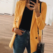 women coat pink blazer womens clothes 2020 girl korean style full solid casual gothic mama fashion harajuku white blazer