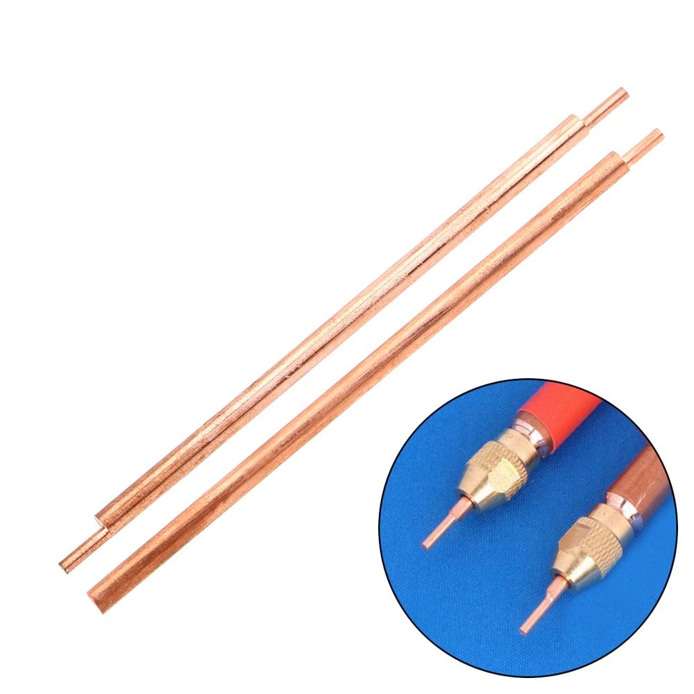 NICEYARD 3 X 80mm Welding Feet Needle Welder Spot Welding Pin Alumina Copper Material Welding Accessories