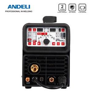 Image 1 - ANDELI máquina de soldadura multifunción MIG TIG pulse MMA, 4 en 1 soldadura en frío, máquina de soldadura en frío multifunción