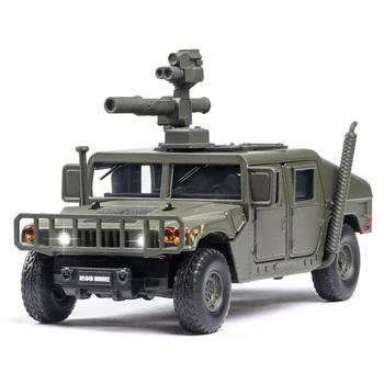 1 32 U S Hummer M1046 samochód wojskowy Model rosja tygrys-m odporny na eksplozje opancerzony dźwięk lekki samochód Diecast pojazdy zabawkowe dzieci tanie i dobre opinie Metal 3 lat 6972440600406 Inne Certyfikat 2018152202021558 JK823534 NONE Desert color jungle green camouflage green