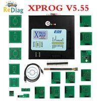 Preço de promoção x prog-m xprog m v6.12/6.17/5.86/5.55 ecu chip tunning ferramenta programador XPROG-M ecu ferramenta de diagnóstico programador