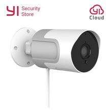 يي مجموعة في الهواء الطلق كاميرا 1080P مانعة لتسرب الماء اللاسلكية كاميرا مراقبة أي بي للرؤية الليلية الأمن كاميرا مراقبة يي سحابة المتاحة الاتحاد الأوروبي