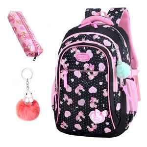 Image 5 - Школьные сумки для девочек со звездами, детский студенческий рюкзак, сумка для начальной школы, детские сумки, рюкзак Mochila Infantil