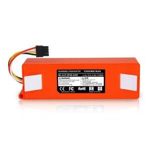 Image 2 - li ion 18650 battery for XIAOMI ROBOROCK Vacuum Cleaner S50 S51 T4 T6 mi robot Vacuum Cleaner accessories