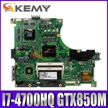 Akemy N56JK Laptop motherboard for ASUS N56JK N56J N56 original motherboard I7-4700HQ GTX850M N56JK mainboard N56JK motherboard
