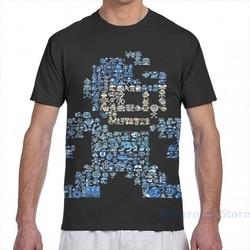 Camiseta de manga curta dos homens das mulheres dos desenhos animados da menina da forma da cópia