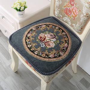Цветочный обеденный стул Подушка для кухонного декора противоскользящая домашняя подушка для сиденья Европейский Almofada для стула для декор...