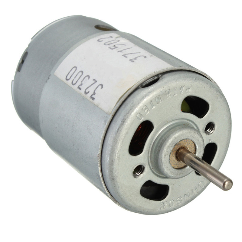 2019 New Arrival DC3-12V Large Torque Motor Super model with High Speed Motor New Arrival Rated voltage 9V 20W 380 motor