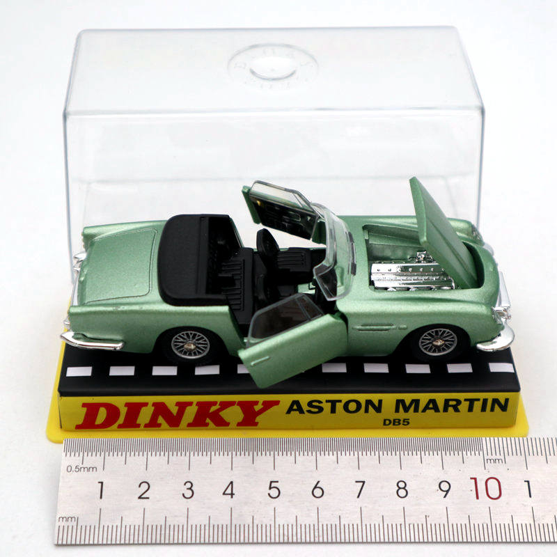 Atlas 1//43 Dinky toys 110 Aston Martin Green Diecast Models Car Collection