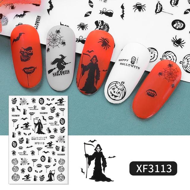 Halloween nail stickers