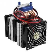 DC12V Thermoelectric Cooler Semiconductor Refrigeration Water Chiller Cooling Device for DIY Fish Tank Mini Fridge