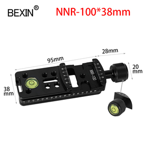 Image 3 - Slide Rail RRS long Quick Release plate Clamp Long focus Zoom Lens Support Holder Bracket for Arca swiss Tripod camera ball head