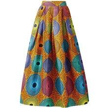 Женская одежда Дашики юбка с Африканским принтом Анкары модная