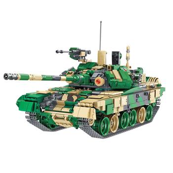 1773 sztuk WW2 Swat rosja T90 główny czołg broń małe cząstki klocki budowlane zabawka zestaw klocek z tworzywa sztucznego zabawki konstrukcyjne tanie i dobre opinie surwish 5-7 lat 8 ~ 13 Lat 14Y Dorośli Military Transport none 2796734 disassembly assembly toys for children block assembly toys