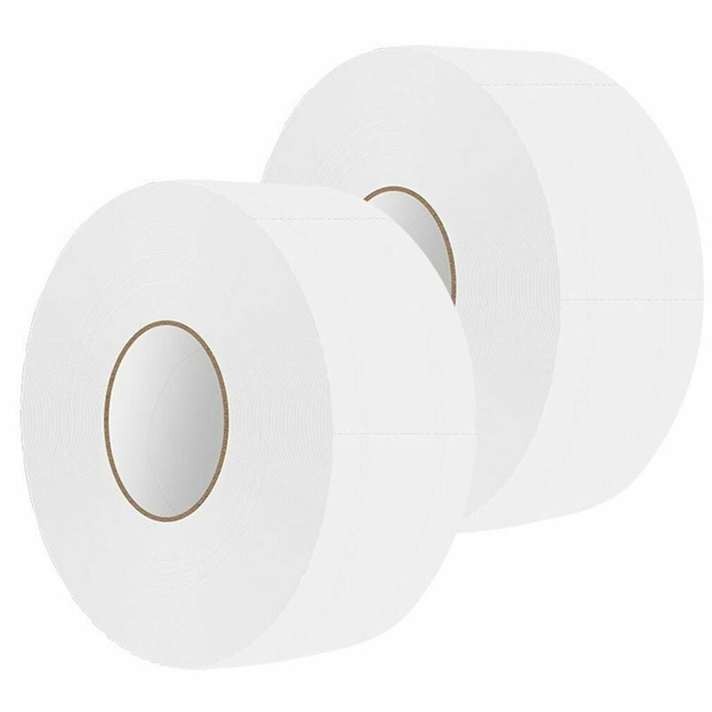 2 Rolls Large Grain Paper 3 Layers Toilet Roll Paper Tissue Roll Paper Primary Wood Pulp Toilet Paper