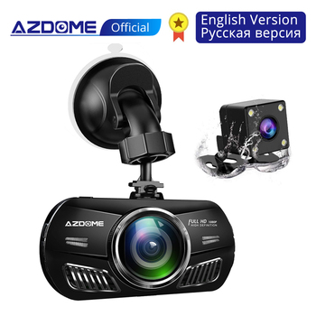 AZDOME M11 3 inch 2.5D IPS Screen Mini  Dash Cam  Full HD1080P Car DVR Car Video Recorder Night Vision car camera dashcam