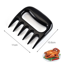 Slicer-Cutter Grill-Accessories Barbecue-Fork Vegetable Fruit BBQ Bear Claw Kitchen Cooking