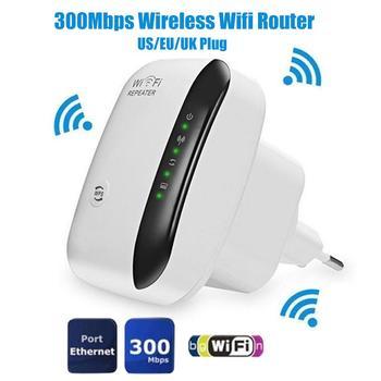 US/EU/UK Plug Socket 300Mbps Wireless WiFi Router AP Repeater WLAN Extender WiFi Repeater WiFi extender WiFi роутер repetidor