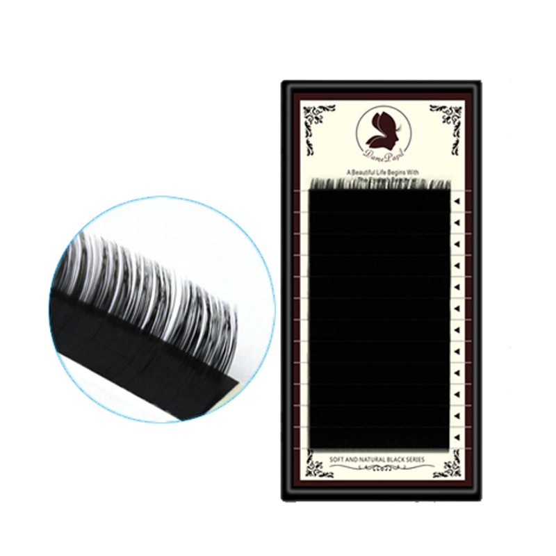 DamePapil Volume Eyelash Extensions 0.03 0.05 0.07 0.10 0.15 0.20mm Individual Lash Extension For Professional Salon Use
